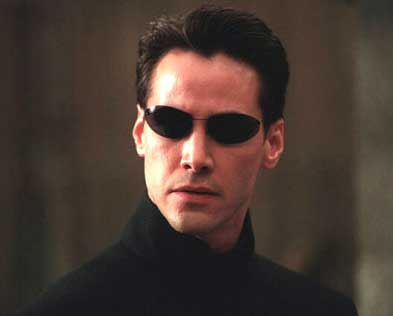 Киану Ривз (Keanu Reeves) в Матрице (The Matrix)